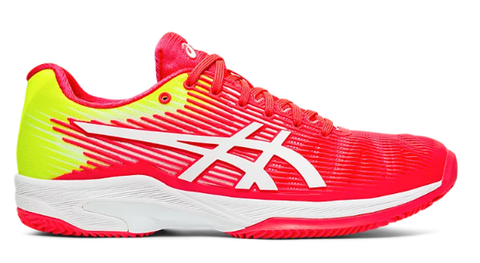 Asics Women's Gel Solution Speed FF Clay (Laser Pink/White)