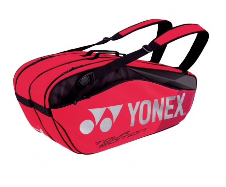 Yonex Pro Racquet Bag Tour Edition Flame Red (6pcs)