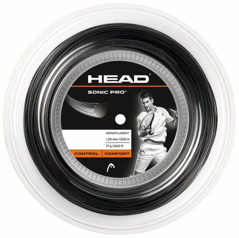 Head Sonic Pro Black Reel