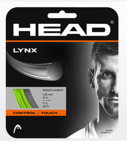 Head Lynx Lime Green 1.25mm Set