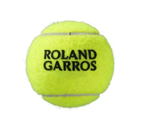 Wilson Roland Garros Official Ball - Clay Court - 4 Ball Can