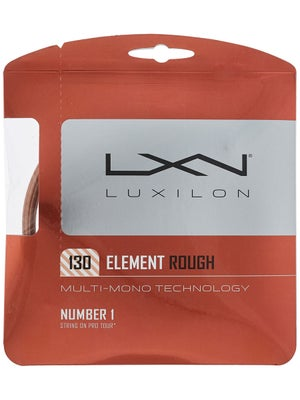 Luxilon Element Rough 1.30 Set