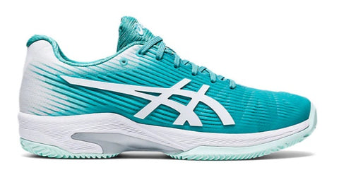 Asics Women's Gel Solution Speed FF Clay (Techno Cyan/White) 2020