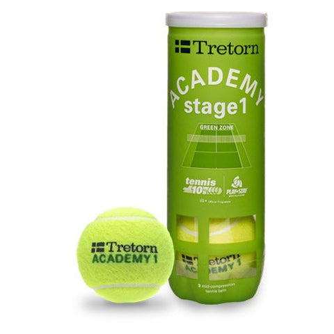 Tretorn Academy Green 1 (3 ball)