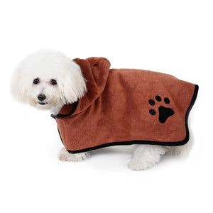 Dog Soft Bathrobe