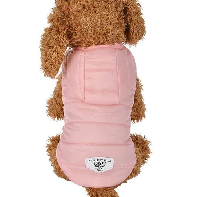 Warm Waterproof Coat For Small, Medium, and Large Size Dogs