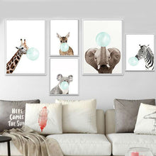 Load image into Gallery viewer, Cute Baby Animal Oil Paintings