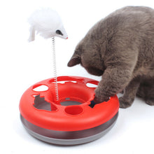 Load image into Gallery viewer, Mouse & Bell Ball Toy For Cats