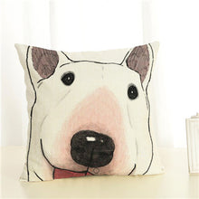 Load image into Gallery viewer, Dog Printed Cushion Cartoon Covers