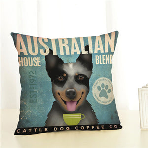 Dog Printed Cushion Cartoon Covers