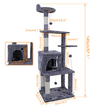 Load image into Gallery viewer, Cat Tower With Scratching Post