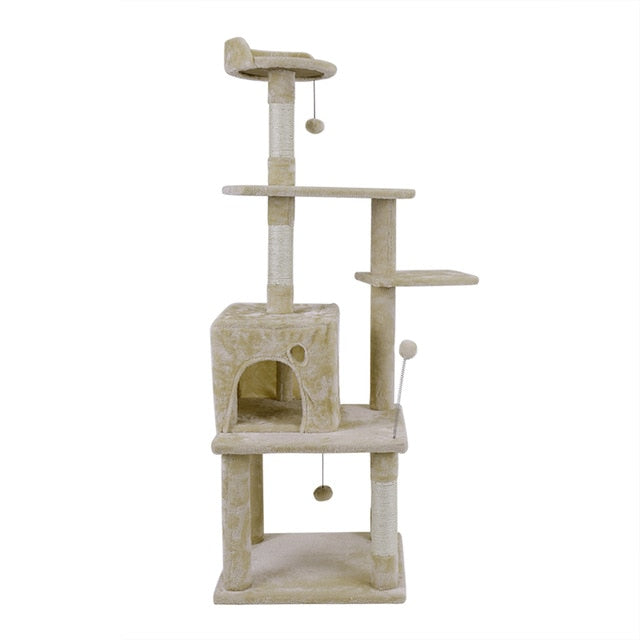 Cat Tower With Scratching Post