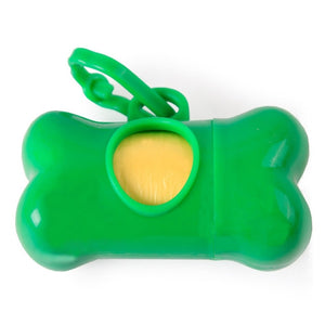 Dog Waste Poop Bags Dispenser - Bone Design