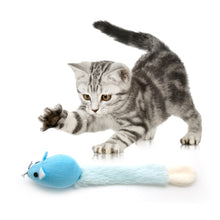 Load image into Gallery viewer, Long Tail Catnip Mouse