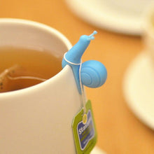 Load image into Gallery viewer, Small Snail Tea Bag Holder