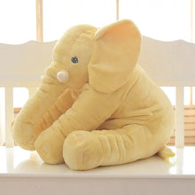 Load image into Gallery viewer, Large Soft Stuffed Plush Elephant Pillow