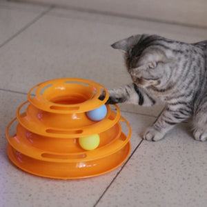 Intelligence Triple Play Disc For Cats