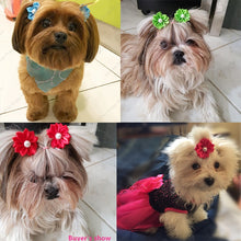 Load image into Gallery viewer, Flower Hair Bows