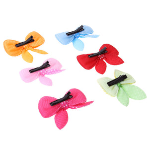 10 Pcs Dog Colorful Hair Bows