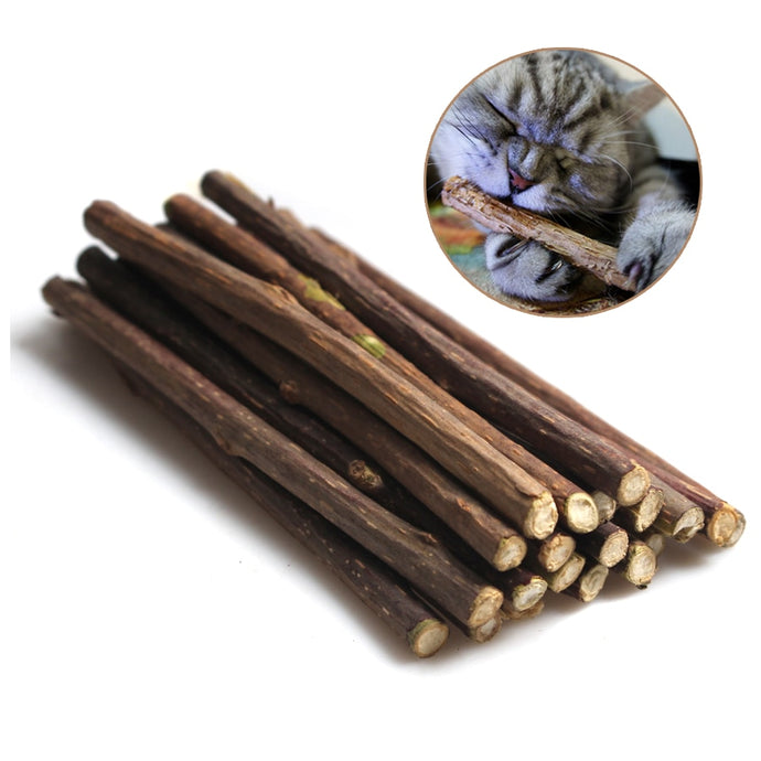 15&20pcs Natural Catnip Sticks