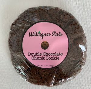 Double Chocolate Chunk Cookie