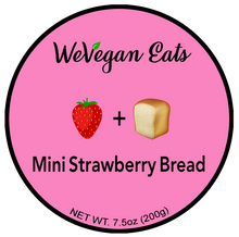 Load image into Gallery viewer, Mini Strawberry Bread