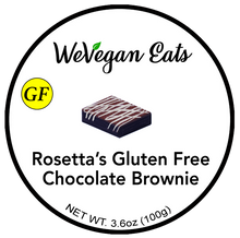 Load image into Gallery viewer, Rosetta's Gluten Free Chocolate Brownie