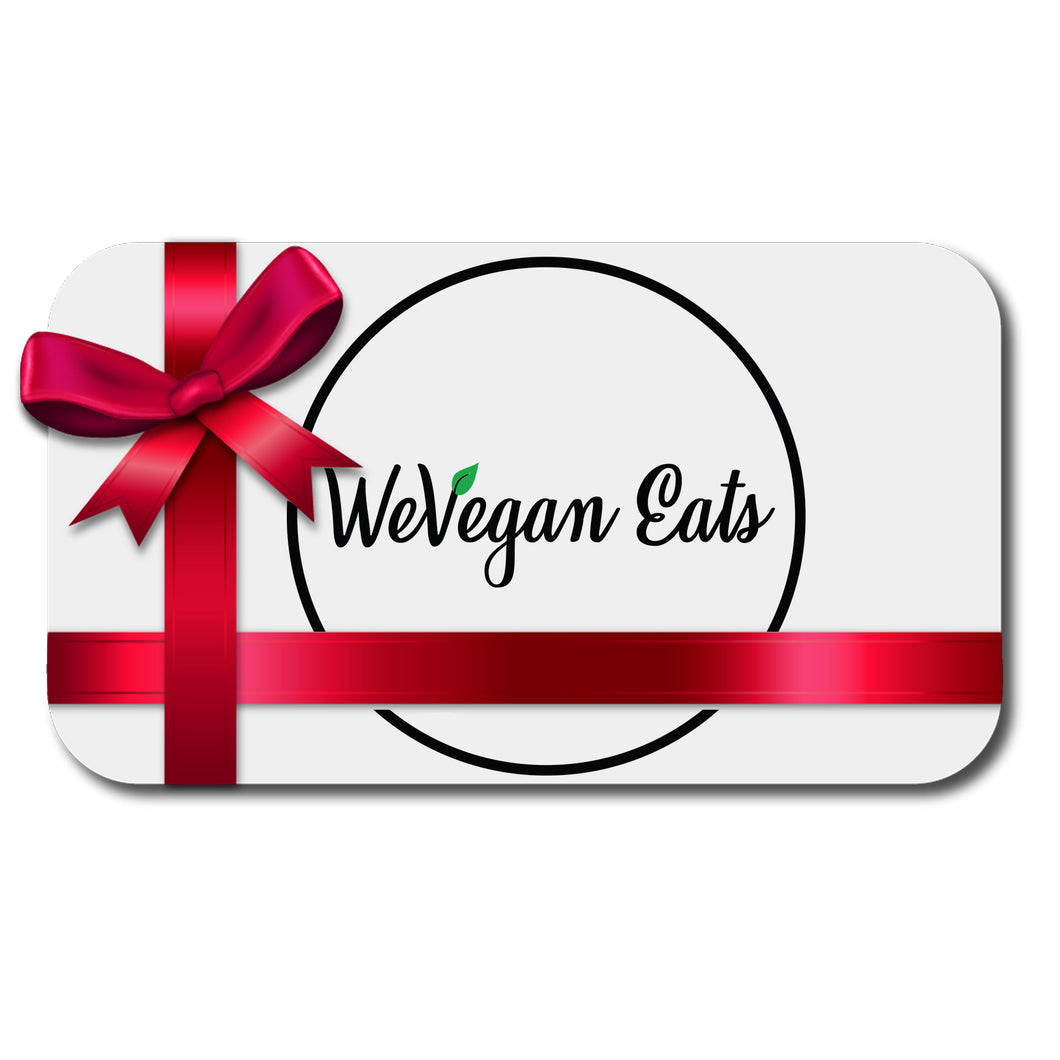 WeVegan Eats eGift Card