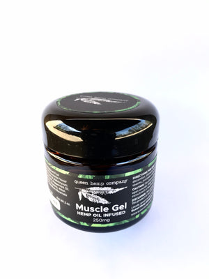 250mg Queen Hemp Infused Muscle Gel