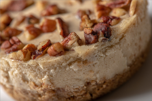 Vegan Butter Pecan Cheesecake