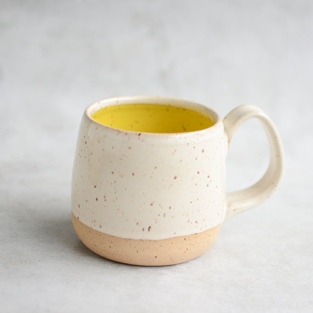 Button Pottery Mug