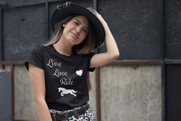 Live, Love, Ride - Tee Shirt