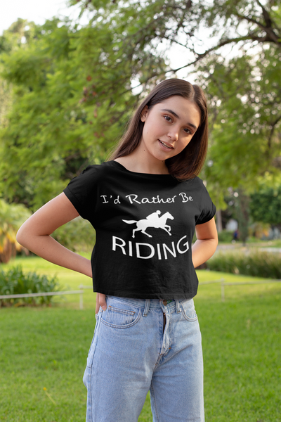 I'd Rather be Riding - Tee Shirt