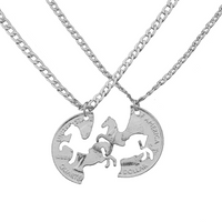 Best Friends Forever Horse Necklace - A TIMELESS piece!
