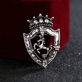 Classic and Timeless Horse Lapel Pin - fit for a QUEEN!