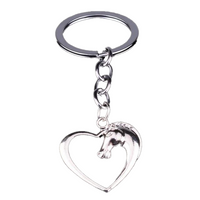 Horse Love Heart Keychain - Fashionable and TRENDY!