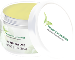 Nature's Greatest Muscle & Joint Salve - 100mg/1oz