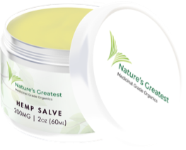 Nature's Greatest Muscle & Joint Salve - 200mg/2oz.