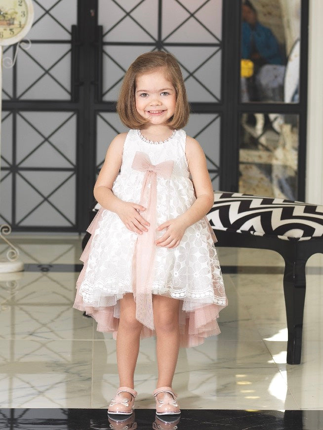 Lovely Girls Rose Dress