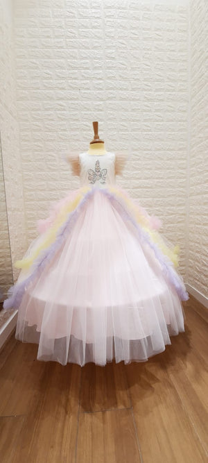 Unicorn Dress | فستان يوني كورن - Via Bambino