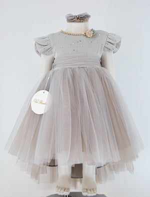 Girls Gray Dress