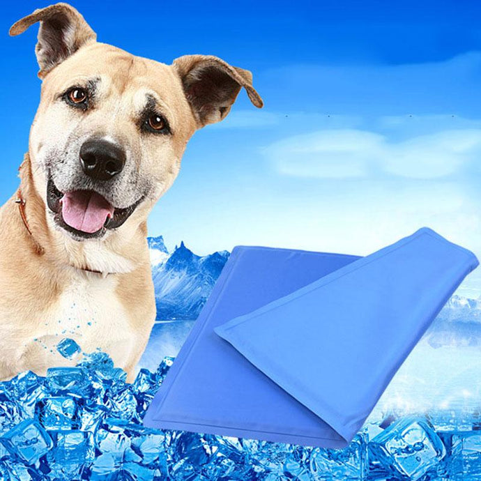 Pet Cooling Mat Pressure-Activated Gel Cooling Pad Ideal for Home & Travel
