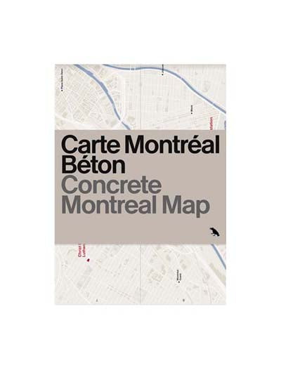 Concrete Montreal Map
