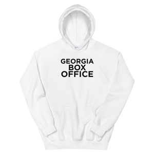 White Georgia Box Office Hoodie