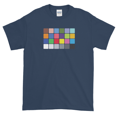 Color Chart t-shirt for filmmakers