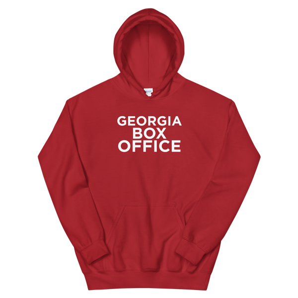 Cherry Red Georgia Box Office hoodie