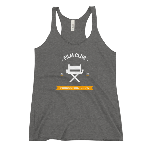 Gray Film Club tank top from Georgia Box Office