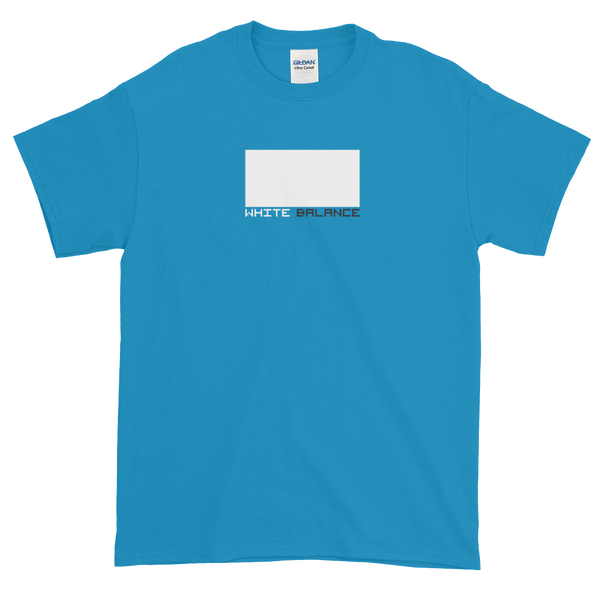 "Blue ""White Balance"" t-shirt"