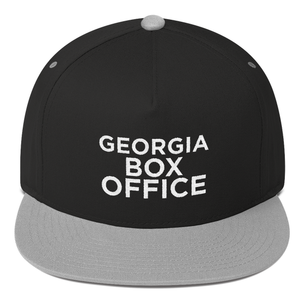 GBO Black and Gray Snapback hat