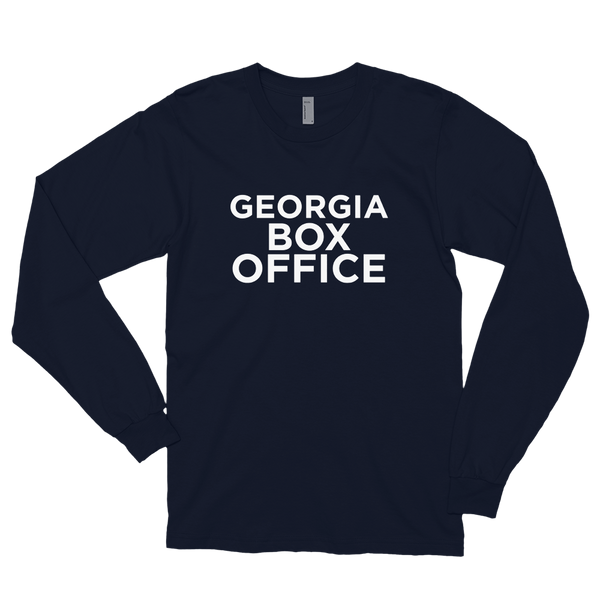 Black Georgia Box Office long sleeve shirt